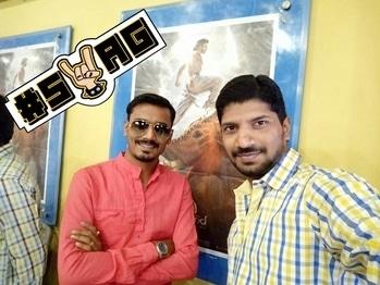 #photooftheday  #watching Bahubali 2#frnds #masti..... #funtimeclick #swag