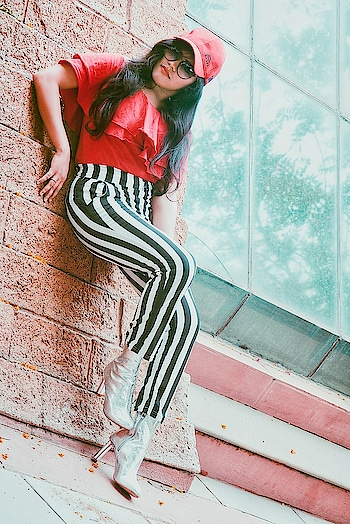 Find what you love and let it kill you❤ Ps: this is my new instagram account @that_vogue_soul please do follow As the old account was hacked I will be deleting it soon. Please do follow and show some love. . . . #fashionblogger #beautyblogger #lifestyle #indianblogger #hyderabadfashionblogger #beautiful #red #strips #boots #fashion #beauty #sandhyareddy #thatvoguesoul #plixxoblogger #plixxoinfluencer #roposo-fashiondiaries #roposoblogger #roposo-makeupandfashiondiaries #roposogal