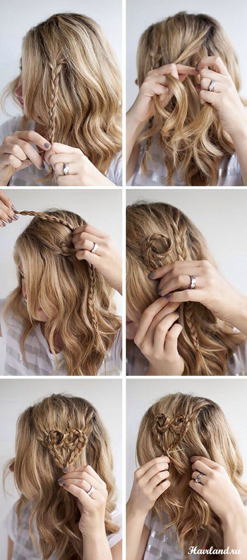 Heart in the hair💕💕 #diy #hairdo #cute #easy #hairstyle #heart💘✨🌟👑🌦🎀🎀🎀👸👸💫💫💋🌸🌸🌸