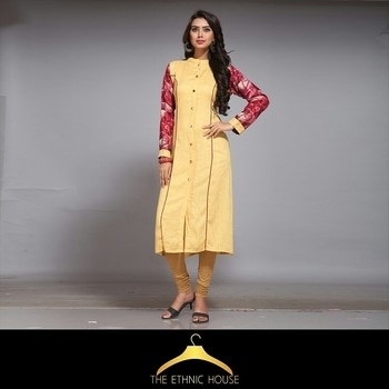 Traditional side wearing this beautiful Kurti. It Is Made Using Rayon Fabric it is smooth against your skin. . CASH ON DELEVRY AVAILABLE FOLLOW US ON INSTAGRAM (@theethnichouse)  For more details:what's app +91-9619527699  #kurti #rayonkurti #kurtifashion #indiankurtis #yellowkurti #printed Kurtis #woman-fashion #womenwear #fashionbloggerindia #fashionblog #ethnic-wear #ethnickurti #onlineshopping  #kurtis