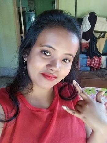 Bindass #swagger #bindaas #glamorousselfie #makeup and eyes makeup #redlipstick #redlove