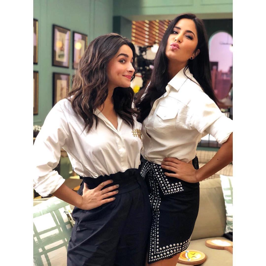 BFF ❤️💄🌟💃🌺❤️️#twinning with aliaa bhatt 😊  #officialaccount #katrinakaif #verified #Bollywood #salmankhan #priyankachopra #deepikapadukone #sunnyleone #Haircut #fashion #blogger   #officialaccount #priyankachopra #Haircut #katrinakaif #deepikapadukone #verified #blogger #sunnyleone #Bollywood #salmankhan #fashion
