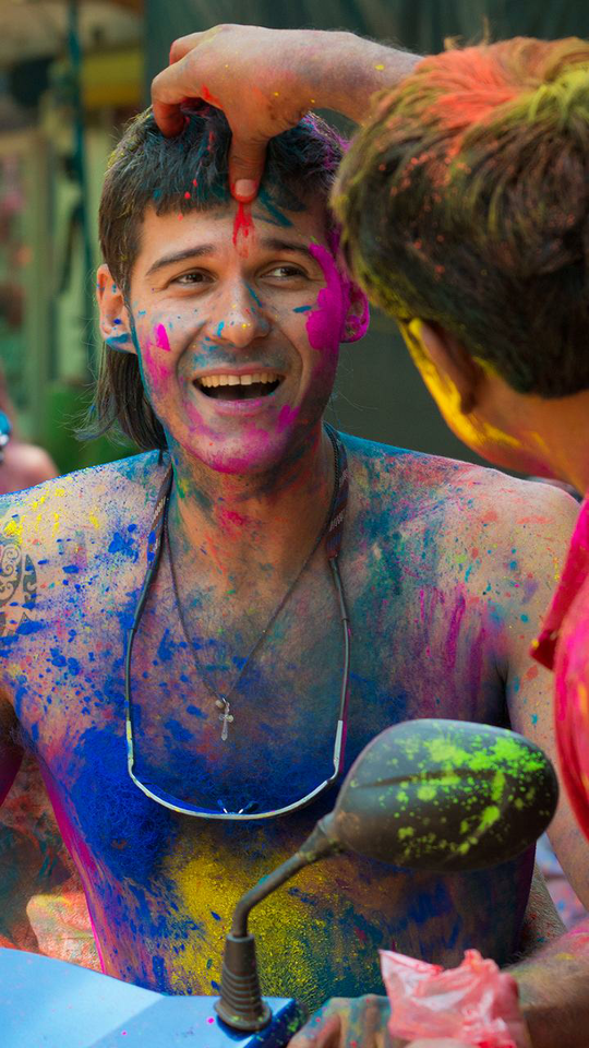 #holi #colors #bright #play #enjoy #chill #look #festival