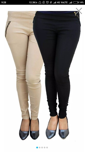 zipper jeggings pack of 2 fre shipping price 699 paytm and bank transfer accepted whatapp no. 9818479804 7 days return policy