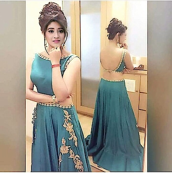 #beauty blog her #fashionlover #turquoiseblue #goldentouch #stunninglook ##hairstyle  #awesomehairdo #bunhairstyle #flicks #indianbeautyandmakeupblogger #backlessdress #elegantdesigns #trendinglook #nairahairstyle #kairalove #shivangijoshihairstyle #shivanijoshi #cuteness-overloaded #fashion love😍 #stylebloggerindia #roposo-makeupandfashiondiaries #popxofashionblogger #gorgeousoutfits #fashion,bollywood,latest,trendy  #dazzlestylefashion #love_to_pose_for_the_camera #ropo-beauty  #glamourworld #staytunedformore