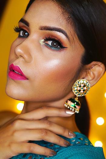 Lipshade: @nykaabeauty Paintstix (05) Lashes: @kingdomoflashesofficial (Princess) . . . #undiscovered_muas  #makeup  #makeupartist  #makeupjunkie  #wakeupandmakeup  #hudabeauty  #makeupforbarbies    #indianmakeup  #indianbeautyblogger  #indianyoutuber  #makeupartistbihar  #SnehaSakya #beautyinfluencer  #beautyblogger  #indianinfluencer  #roposolove  #soroposo #lookgoodfeelgood #lookgoodfeelgoodchannel