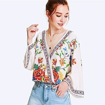 Fresh New Arrivals added to our uber cool collection! Buy this Patchwork Floral Beach Blouse at just ₹1380.00 .   Cash on Delivery with Easy Returns & Exchanges    Up-to 100%* Money Back Guarantee!   Satisfaction Guaranteed   .  #poshgrid #style #newarrival #tops #party #jumpsuit #romper #dress #partywear #blouses #trendy #girls #topshop #ootd #women #photooftheday #india #trending #womensfashion #vogue