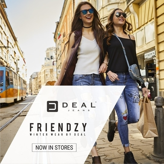 This season is all about flaunting the chic, free-spirited soul within you! Shop for the AW17 collection with your bestie & be frienzy with Deal! #AW17 #NowinStores