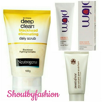 10 Best Face Scrubs in India- http://shoutbyfashion.com #facescrubs  #ontheblog  #face  #shoutbyfashion