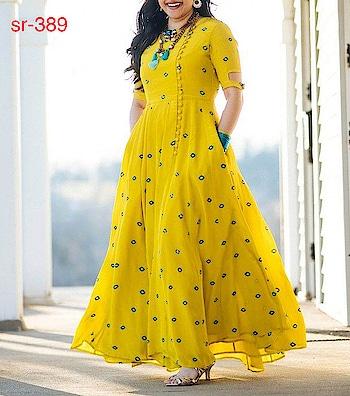🙀🙀#wow #yellow#yellowdress #blue #longkurta #withjwellwry#trendydress#super