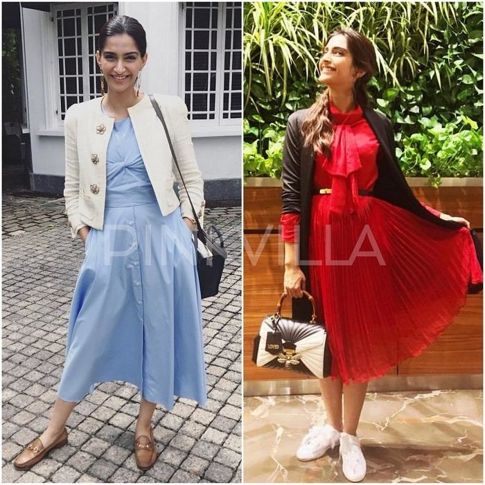 Yay or Nay: Sonam Kapoor in Rheson and Shift by Nimish.