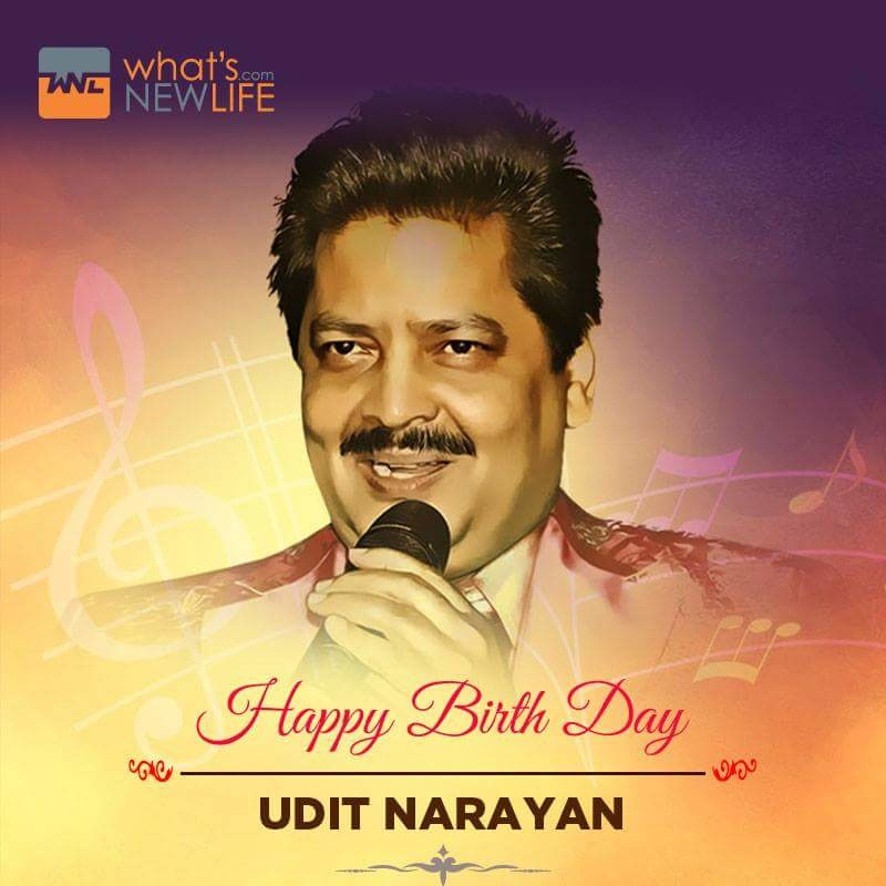 What's New Life wishes playback singer Udit Narayan on his birthday anniversary.  #UditNarayan #Birthday #Celebration #Wishes #WNL #WhatsNewLife