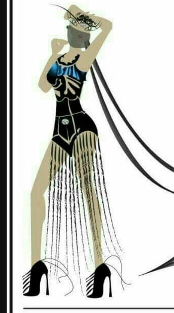 Futuristic Fashion for 2026 Fashion graphic illustrator : shal or shaz @roposotalks @roposocontests @shalorshaz @styledotme