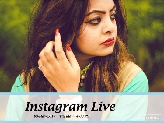 Join me on my Instagram live session ..   Instagram username- classifiedbird  #roposotrends #roposoblogger #shivalichauhan #classifiedbird
