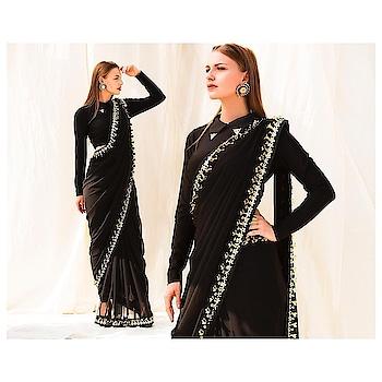 Black is beautiful... Our onyx pant saree is perfect for your destination weddings 😍  Grab them now at www.nityabajaj.com  #fragmentsbynityabajaj #gold #conceptsarees #Fragments #Springsummer2018 #NITYABAJAJ #labelnityabajaj   #Repost @prashhant_awasthi  FRAGMENTS SS2018 by @labelnityabajaj  Model: @glanz_models  Makeup: @dattarintu  Jewelry @gioielli_jewellery #designerwear #summer #springsummer #springsummer2018  #photoshoot #photopost #instapic #instagood #instagram #instapost #instafashion #photographer #shootlife #artdirection #editorial #editorialphotography