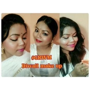 new video is out on my YouTube channel link in my bio #this diwali....  #in diwali  #diwalimakeuptutorial #diwali vibes💞 #celebrating diwali #diwali look #diwali2017 #ytindia #makeup and eyes makeup #ethnic-wear #ethnicjewellery #ethnicity #traditionaldresses #indian-festival #traditionaldresses #traditionaloutfits #roposotalenthunt