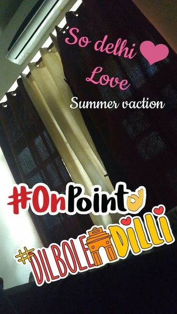 #delhi #summer_vacation #nainihouse #outing #delhitour #dilboledilli #onpoint