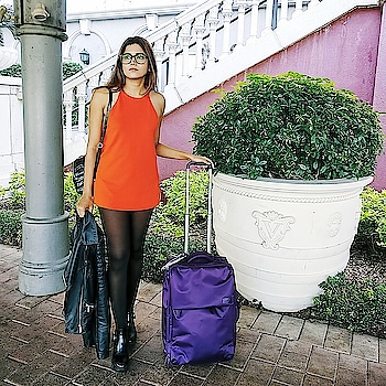 Truly enjoyed travelling ✈ with @lipaultindia luggage bag during my recent trip to Hong Kong & Macau. It's a perfect bag for modern day travelers looking for light weight, fun & smart travel bags 🛄💯 . . . . . . . #wardrobesecrets #lipaultindia #bags #luggage #hongkong #travelinfluencer #indiantravelinfluencers #mumbaifashionblogger #mumbailifestyleblogger #mumbaitravelblogger #mumbaibeautyblogger #mumbaibloggers