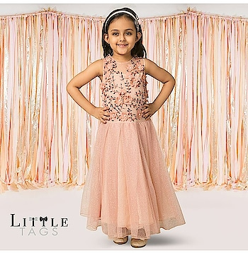Stop , swirl & pose like a princess in this pretty pink shimmer dress from @rinadhaka  Buy this stunning piece only at www.littletags.com #littletags #pink #gown #shimmerdress #outfitforgirls #prettyinpink #elegant #beautifull #comfortable #rinadhaka