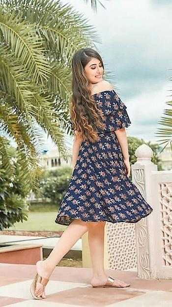 #shortdress #blue-lover #jaipurdiaries #fashion-blogger #lifestyle #3rdpost #loveness #etiquette #posing #model