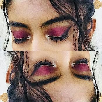 #eyeshadow #eyemakeup #myeyemakeup #simple #classy #workhard #indianmakeupartist #mua #dowhatyoulove #roposo #roposomakeup #roposolove #ropo-style