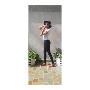 🙈 Suns out, buns out 🙈  Yoga pants: @flipkartfashion  Shirt: Kahn Market Hat: @aldoindia  Shoes: @puma   #fashion #college #collegefashion #collegewear #collegediaries #fashiondiaries #indianfashionblogger #soroposoclothing #soroposodaily #roposostyle #menoninstagram #womenonroposo #mensstyleblog #mensstyleguide #mensstyle #mensstreetstyle #mensstreetfashion #mensblogger #bloggerlife #youtubecreatorindia #yoga4roposo #yogaroposo #fitness