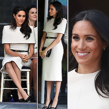 Duchess Of Sussex Meghan bonds with the Queen sans Harry in this stunning #Givenchy number. We likey! 😍 . . . . . #theredbox #crazysexycool #meghanmarkle #duchessofsussex #thequeen #queenelizabeth #royalty #royalstyle #kensingtonpalace #love #thecrown #celebritystyle #celebstyle #celebrityfashion #ootd #lookoftheday #styleicon #stylediaries #styleinspo #style #fashionista #fashiongram #gorgeous #welove #meghanmarklestyle #meghan #instalove #soroposo