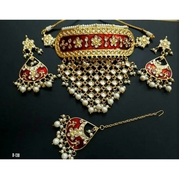Kundan  Choker Necklace 💞 Bridal And Semi-Bridal Necklace 📿  💎💎💎💎💎💎💎💎💎💎💎💎 °Manufacturer Of Kundan Jewellery° ✓All The Kundan Jewellery Pics Posted On The Page Are Always Available ✓  °Everything Is Made On Order° ✓Any Colour Can Be Customised As Per your Preference✓ ✓contact - 9999274651✓ °Contact For Wholesale Jewellery° °Join us as a reseller° ✓whatsapp 9999274651 for enquiries and placing Orders 💎💎💎💎💎💎💎💎💎💎💎💎  #kundanjewellery #Bridalset #bridalwear #semibridal #goldenbless #choker #Redbeauty #kundanjadau #Indianjewellery #traditionaljewellery #weddingjewellery #weddingseason #kundannecklace #Golden #allaboutjewellery #Newdesign