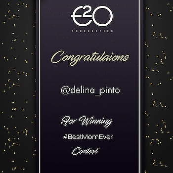 And here we announce our winner @delina_pinto  Kindly DM us your details 🤗  All the participants who didn't make it, don't lose heart. We are soon coming up with more exciting contest #StayTuned #e2ofashion #bestmomever