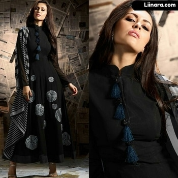Black Mugdha Party Wear Anarkali Suit  100% Original Company Product with High-Quality Fabric Material.  Shipping World Wide.  Price - Rs 3380/- After discount Rs 2850/-  Shop Here - https://www.liinara.com/products/black-mugdha-party-wear-anarkali-suit  #designerdress #salwarkameez #anarkalisuit #anarkali #liinarafashion #straightsuit #salwarsuit #straightsalwarsuit #patialasuit #punjabisuit #fashion #love #ethnicwear #suitwithjacket #follow #instagram #heercollection #unstitched #mohinisuit #pakistanistylesuit #longsuit #mohiniaarya #embroideredsuit #purplesuit #longsuit #mugdhasuits #mugdhaanarkali #partywearanarkali #designerdress #salwarkameez #anarkalisuit #anarkali #liinarafashion #straightsuit #salwarsuit #straightsalwarsuit #patialasuit #punjabisuit #fashion #love #ethnicwear #suitwithjacket #follow #instagram #heercollection #unstitched #mohinisuit #pakistanistylesuit #longsuit #mohiniaarya #embroideredsuit #purplesuit #longsuit #mugdhasuits #mugdhaanarkali #partywearanarkali