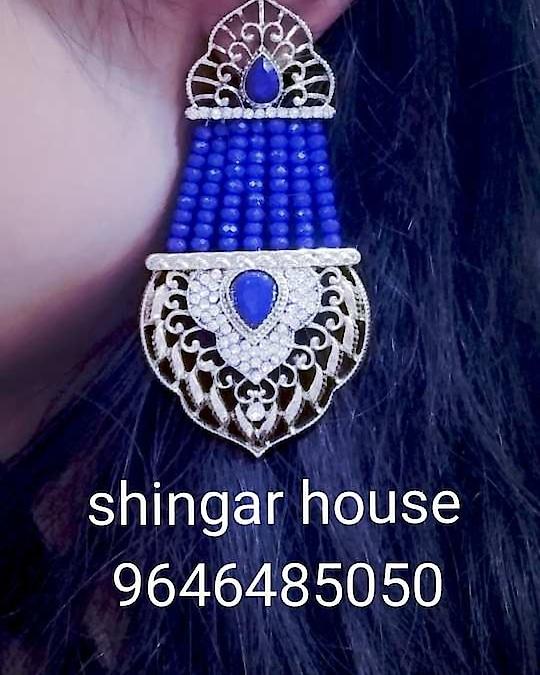 #earrings  blue earrings available __________________________ ORDERS AND QUERIES:- (9646485050)Gauravmongia  _____________________________ PAYMENT METHOD:-WESTERN UNION, MONEYGRAM, PAYPAL, PAYTM, BANK TRANSFER ------------------------------------------------------------ CONTACT METHOD:- WHATSAPP, VIBER, FACETIME, DM WHATSAPP FOR FAST RESPONSE ______________________________ #punjabijewellery #celebrities #orignalquality #designeraccessories r #instalikr #instagram design #like4like #Shingarhouse #immitationjewellry#watches #purses#designeraccessories#parlourproducts... #designersuits #punjabiwedding #instacraze #instadesigns #follow #instalike #surrey #mississauga  #torronto  #sanfransisco #sacramento #california #germany #frankfurt #newyork #punjabiculture #sydney  #