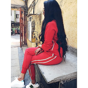 Rising. Falling. Growing & Glowing! Totally love with this comfy tracksuit from Missa  #missamore #missamoreclothing #red #comfy #tracksuit #fashionaddict #fashionaddicted #fashionista #fashionstyle #fashionlover #lookbook #lifestyle #lifestylefashion #secretfashionlover #blogger #bloggerstyle #lifestyleblogger #fashionblogger #instablogger #mumbaiblogger #indianblogger #2k18 #like4like