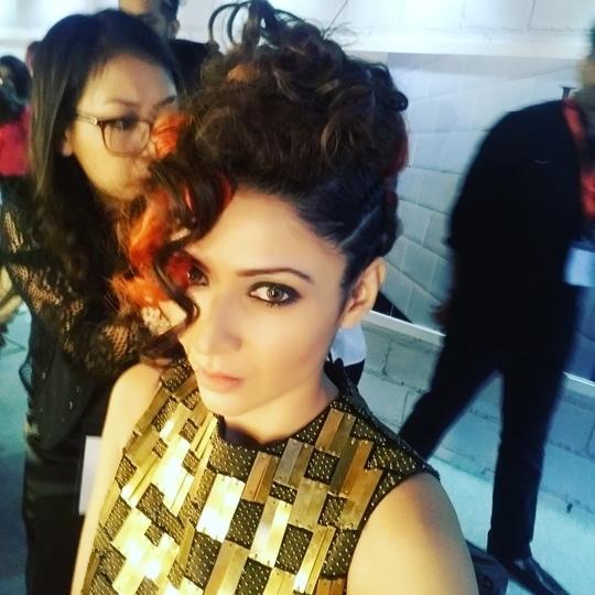 High fashion #tigi #masterpiece #Backstage heroes