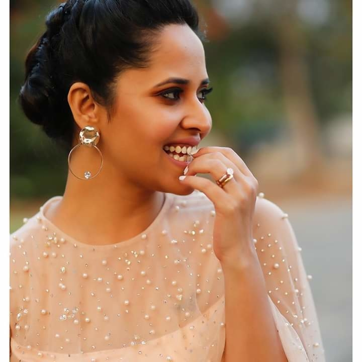"""She lives life in her own li'l fairytale"".... For #Jabardast #tonight #300Special  PC: @valmikiramu #anasuya #anasuyabharadwaj"