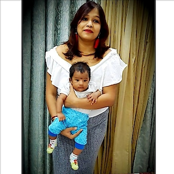 Rudro came into our lives on 20th may 2018.... and I am loving this phase of motherhood... #mommyblogger #momslove #momstyle #roposo-style #roposo-fashiondiaries #roposo-good