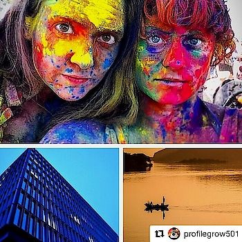 #Repost @profilegrow501 (@get_repost) ・・・ Congratulations to the three winners of our recent #travelsincolour competition (to celebrate Holi) with @lonelyplanetindia! Top: by @norajessamyn with @cisforkatie (in #California, #USA -- yes, for real!). Bottom left: by @arvindpassey (in #Amersterdam, #Netherlands). Bottom right: by @havneethuda (in #Udaipur, #India). Thanks to all those who entered! . . * Thank you! :)