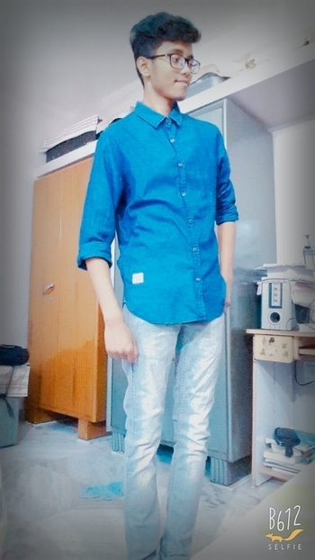 Casual cloths #casuals #outfitpost #blue #greylove