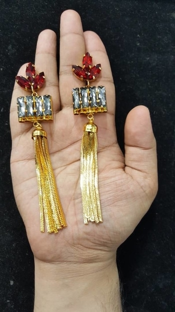 Check link in bio for more options #newyear #earrings #indianweddingwear #bridalwear#trendywear #designerwear #designer #Bridaljewelry #bridal #indianbride #bollywood #jewelry #wedding #accessory #kundan #statementjewelry #indianjewelry #desifashion #indianfashion #indianwedding #allthingsbridal #walima #india #mughal #desibeautyblog#trendinglive #ethnicjewelry #ethnicjewellery #soroposo #soroposolove #soroposofashion #soroposogirl #soroposostylefiles #trendingonroposo #mumbai#delhiblogger #mumbaiblogger#selfie #fashionblogger #girly #indiangirl #indianwomen #love#beauty #indianbeauty #indian#desi #desibeauty #indianfood #indianfestival #diwali #weddingseason #desistyle #indianfashionblogger #lehenga #wedmealready #clothes #ludhiana #follow4follow #hot#calcutta#makeup #online #stylist #stylish #hair #bloggerstyle #fashionstyle #happy #tshirt #scarves #trendalert #giveaway #bloggerdiaries #roposolive #mensstyle #blue #pink #look #red #instadaily #blog #onlineshopping #swag #shopping #lifestyle #outfit #dress #roposofashion #roposoblogger #fun #partywear #christmas  #foodporn #fashionstylist #winterfashion #delhi #pink #bloggerstyle #blog #winter #fashiongram #fashionblog #styling #fashionaddict #fashionblog #roposobeauty #trendy #onlineshopping #stylingtips