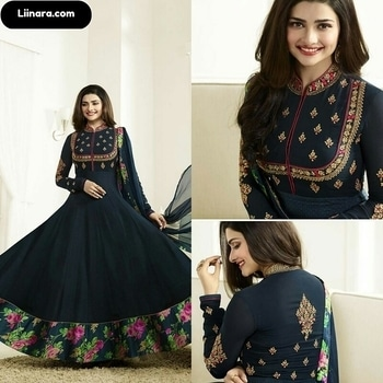 Vinay Prachi Desai Navy Blue Anarkali Suit  100% Original Company Product with High-Quality Fabric Material.  Price - Rs 3350/- After Discount Rs 2650/-  Shop Here - https://www.liinara.com/products/green-prachi-desai-georgette-anarkali-with-floral-prints     #designerdress #salwarkameez #anarkalisuit #anarkali #liinarafashion #straightsuit #salwarsuit #straightsalwarsuit #patialasuit #punjabisuit #fashion #love #ethnicwear #suitwithjacket #follow #instagram #heercollection #unstitched #mohinisuit #pakistanistylesuit #longsuit #mohiniaarya #embroideredsuit #purplesuit #longsuit #mugdhasuits #partywearanarkali #palazzosuit #plazosuit #plazzosuit #liinara #heersuit #prachidesaicollection #prachidesaianarkali #prachidesaisuit
