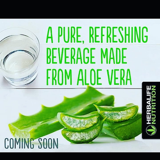 A Pure, Refreshing Beverage Made From Aloe Vera #HerbalifeNutrition