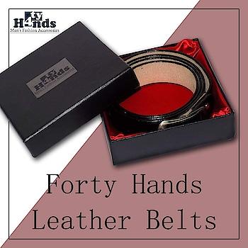 Forty Hands Men's Leather Belts. #men-fashion #leathercover #men-looks #leatherbelt #tie #necktie #fashion @rahulbajaj0192 fortyhands01@gmail.com #accessorieslove