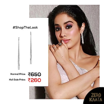 Why style ordinary when you can slay like the gorgeous @janhvikapoor  Get your hands on this stunning pair of handmade Silver Danglers and get FREE Jewellery with every order.  Hurry! Offer ends tomorrow  #oxidizedjewellery #earringsale #earringsaddict #bigearrings #newearrings #fashionearrings #statementearrings #dangleearrings #studearrings #pearlearrings #uniqueearrings #greenearrings #earringoftheday #hoopearrings #tasselearrings #handmadeearrings #earringscollection #earringsswag #earringsonline #earringsforwomen #stoneearrings #partyearrings