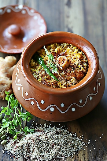 You won't believe how incredibly delicious #AnnaMayaDelhi's Millet Biryani is! Come over to try it! #AndazDelhi
