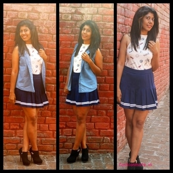 Blogged: My Monsoon fashion outfit - and hottest monsoon fashion trends this year! #skaterskirt #Boots #patchtshirt #halternecktop #boxpletedskirt #boots #tropicalprint #summerstyle #monsoonstyle #monsoonfashion #monsoontips #quirkytop #patches #patchwork #patchtrend