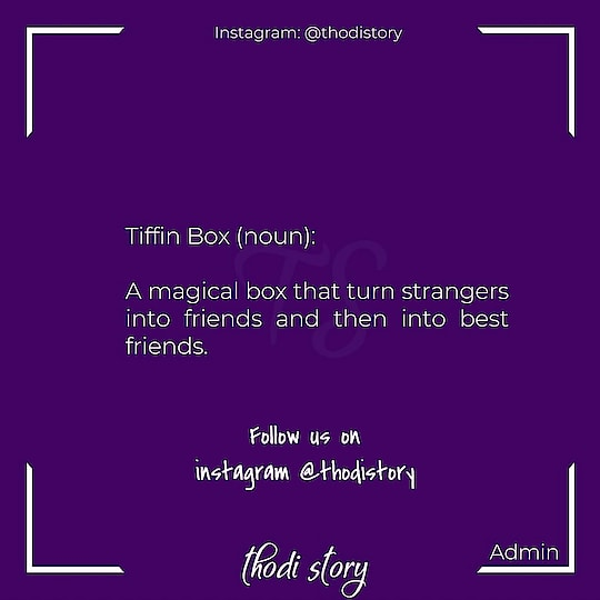 #tiffin #tiffinbox #microtale #dictionary #wordpower #bestfriends #friends #writersofinstagram