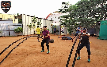 Fat Burning Battle Ropes HIIT Workout Follow and DM @raviscrossfitcoimbatore  The Fat Burning Battle Ropes HIIT Workout can be used as a finisher or just a stand alone workout if you are crunched for time. The Fat Burning Battle Ropes HIIT Workout is a sure fire way to strip the last bit of fat off for summer. Not only will the Fat Burning Battle Ropes HIIT Workout build work capacity and aerobic conditioning, it will also increase muscle endurance in the upper and lower body.   🌐https://raviscrossfit.com/  https://www.instagram.com/raviscrossf...  https://www.facebook.com/raviscrossfi...  https://www.youtube.com/channel/UC_Ox...   Call (or) What's app 📞 9942601333  #battlerope #mma #personaltrainer #boxing #kickboxing #cardio #bodybuilding #tabata #raviscrossfit #fast #uppercut #gymmotivation #waves #bodyshots #jab #girlspower #martialartist #crossfitgirls  #shadowboxing #martialarts #junfan #partnergoals #wushu #brucelee #crossfitcoimbatore #circuittraining #coimbatorecrossfit