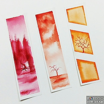 Only one set available. Link in bio!  #art #artofig #afordableart #artforsale #bookmarks #artwork #indian #artist  #artcollective #artfeature #arts_help #artdaily #artlovers #youngartist #affordableart #buyartindia #illustration #watercolor #watercolourpainting #magnificentmirrors