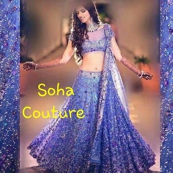 Soha Couture - please WhatsApp or call us on : 9394801098 book us orders now . This page : https://www.facebook.com/Soha-Outfits ☆ for immediate response and price please inbox in our page or WhatsApp us on : 9394801098 or mail us at : sohaoutfits@gmail.com... #ootd #outitoftheday ##lookbook #fashion #fashionblogger #lookoftheday #fashionista #fashiondiaries #instafash #comfortable-clothing #stylishwear #girls #lengha #swag #indiantradition #mumbai #instafashion