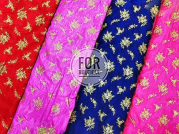 Design no. 299657330 Fabric - Banglori Silk NO MINIMUM ORDER QUANTITY DM for inquiry or order WhatsApp no +91-8511248636.  #Forboutique #manufacturer  #fabric  #love  #stuff  #textile  #traditional  #motif  #eveninggown  #wedding-lehnga  #evergreen  #suitsyou  #sheer  #indianbride  #trendy  #silk