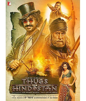 #thugsofhindostan #poster